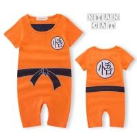 Baju Dragon Ball Sun Goku Baby Romper