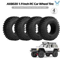 Ax8020 4Pcs Roda Ban 1 9 untuk RC Mobil Traxxas TF2 Redcat RC4WD