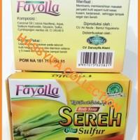 FAYOLLA SABUN SEREH PLUS SULFUR / Fayolla Body Soap Sereh Plus Sulfur