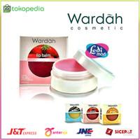 ORIGINAL Wardah Lip Balm 3 Warna 6,5 gr (Orange , Strawberry ,
