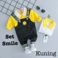 Setelan Baju Celana Pendek Laki Laki Setelan Korea Anak Laki HSA012