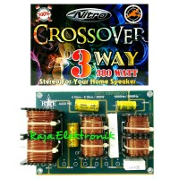 Kit Crossover Pasif 3 Way Stereo BME NITRO 203 380Watt Rakitan Croso