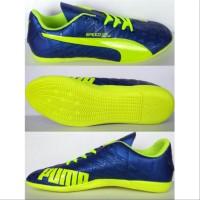 Sepatu Futsal PUMA Evospeed Komponen Bahan Ori List Hijau