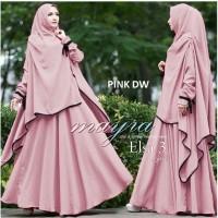 Gamis Bergo Jilbab Baju Syari HG010 Baju Wanita Muslim Dress Muslim