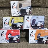 Q One car alarm system alarm mobil kunci alarm universal remote mobil
