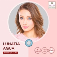 Softlens Ageha Lunatia Aqua Blue / Japan Softlens