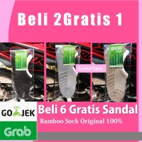 BAMBO ARANG KAOS KAKI KESEHATAN ORIGINAL JEPANG / Kaos Kaki Herbal