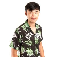 kemeja pria lengan pendek batik / baju cowok batik pendek batik slim