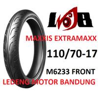 Maxxis 110/70-17 Extramaxx M6233 Front Ban Motor Tubeless Depan