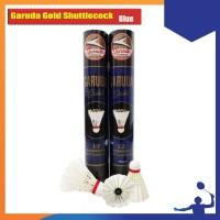 SHUTTLECOCK BADMINTON GARUDA GOLD BIRU ORIGINAL