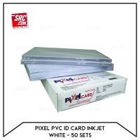 Kertas PVC Bahan ID Card PIXEL A4 isi 50 Lembar