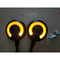 Spion Bulat Lampu Led Scoopy / Genio / Vario (Khusus Honda) Kuning