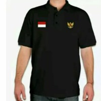 Polo Shirt-Tshirt-Kaos Kerah Timnas Indonesia Keren Terlaris