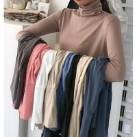 baju tangan panjang model dua lapis double t shirt korea k pop