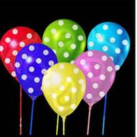 1 Pack [Isi 100 pc] Balon Polkadot Tebal