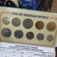 Koin Uang Kuno Set Album Indonesian Coin Edisi Bali Tourism Authentic