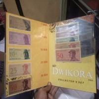 Album Folder Uang Kuno Indonesia Set Sukarelawan 1964 Lengkap Isi Asli