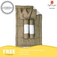 Baby Bedsheet Set Minimalist / Selimut Bantal Guling / Good Quality - B1