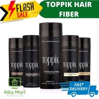 Toppik Hair Fiber / Penebal Rambut / rambut rontok / as caboki 27.5 gr