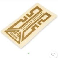 sticker penguat sinyal gen x plus/antena booster signal hp smartphone - Putih