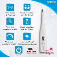 Omron Digital Thermometer Termometer Bayi MC-246 MC246