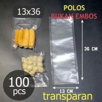 Plastik vacum untuk vacuum sealer 13X36 cm Vakum bag 13 x 36
