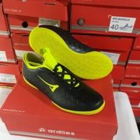sepatu Futsal merk Ardiles hitam/Citroen fsdg-ximenez FL-B