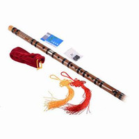 Seruling flute Bambu Chinese Dizi Kunci D