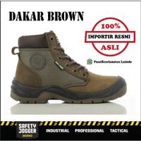 Sepatu Safety Jogger / Jogger Safety Shoes / Dakar Brown - 40