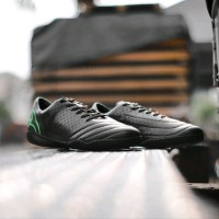 Sepatu Futsal Ortuseight Utopia IN Black Green Fluo Original