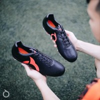 Sepatu Bola Ortuseight Forte Helios FG Black Ortred Original