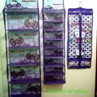 Rak Tas, Rak sepatu dan Rak jilbab Hello kitty ungu Berkualitas