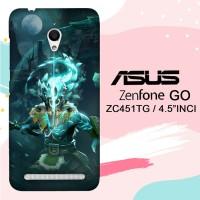 Casing Asus Zenfone Go ZC451TG Dota 2 Juggernaut Arcana L2853