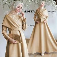 Corion HG007 Baju Gamis Kondangan Gamis Syari Pesta Baju Muslim Wanita