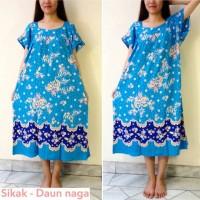 Batik Hengky Sikak Daun naga Baju Daster Tidur Batik Wanita Motif