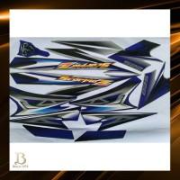 stiker striping yamaha scorpio z 2008 silver biru