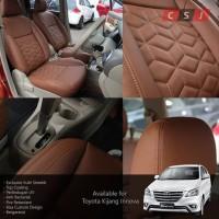 Promo Sarung Jok Mobil Toyota Kijang Innova Bahan Myo Leather