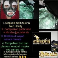 masker spirulina/neo healthy spirulina