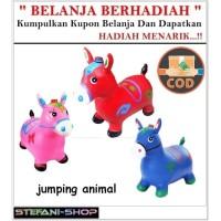 Jumping Animal Music - Mainan Tunggang Kuda Kudaan Karet