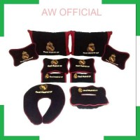 AW Bantal mobil Real Madrid FC 5 in 1