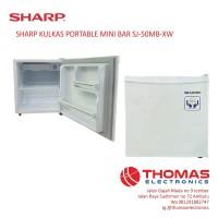 SHARP KULKAS PORTABLE MINI BAR SJ-50MB-XW