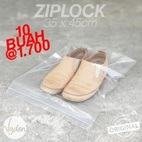 Plastik Klip/Ziplock | Sepatu | Kamera | Packaging | 35 x 45cm | 10pcs