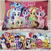 Bantal Boneka Pony Persegi / Bantal Boneka My Little Pony SPM