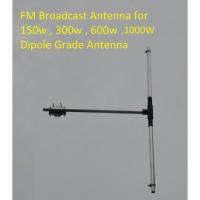 Antena Pemancar FM 87.5-108 Mhz Max 500 Watt Dipole