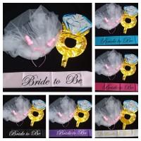 paket bridal shower bando willy 02 - Sash Hotpink