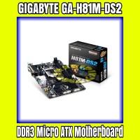 GIGABYTE GA-H81M-DS2 H81 LGA1150 DDR3 Micro ATX Motherboard