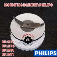 PISAU BUMBU MOUNTING BLENDER PHILIPS HR 2115 2116 2061 2071