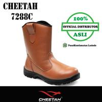 Sepatu Safety Cheetah Safety Shoes 7288C (Brown) - 7