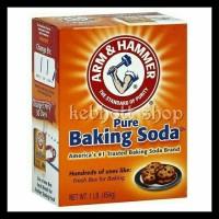 PROMO ARM N & HAMMER HAMER PURE TEPUNG BAKING BACKING SODA POWDER 454