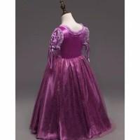 Best Seller Baju Pesta/Baju Princess Disney Kostum Rapunzel Anak